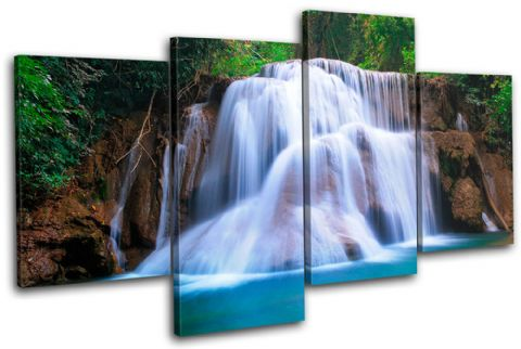 Waterfall River Landscapes - 13-1108(00B)-MP04-LO